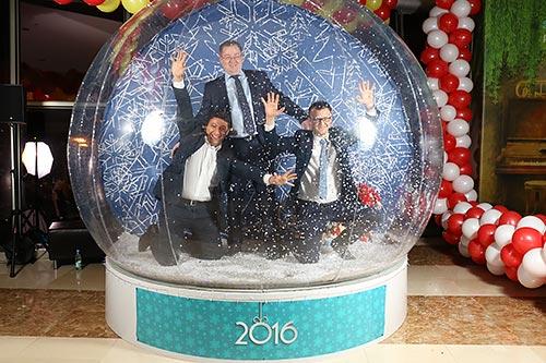 фотозона снежный чудо шар