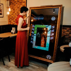 Интерактивное селфи зеркало