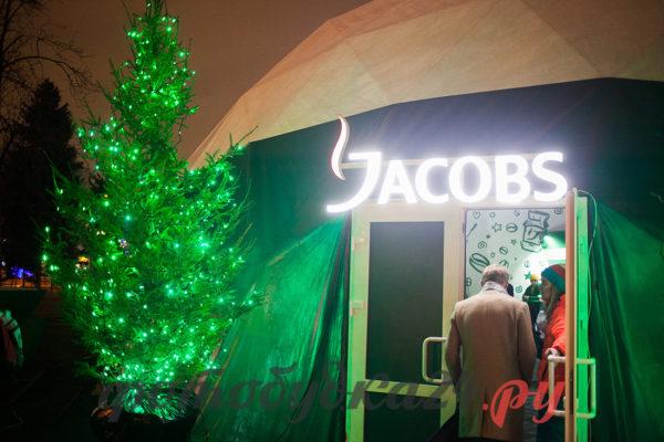 Запуск катка в Парке Горького при поддержке Jacobs