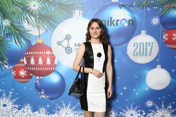 Выездная фотостудия на Новогоднем корпоративе «Микрон»